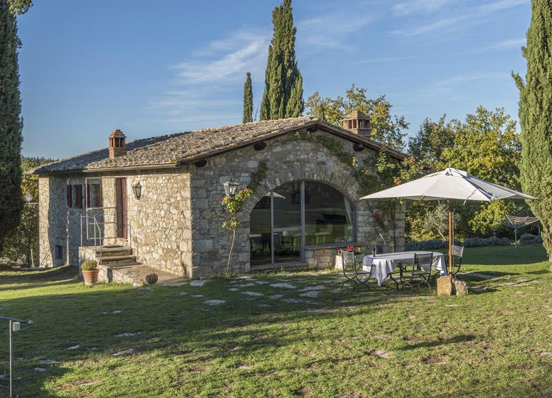 Appartamenti per vacanze nelle colline del Chianti - Podere Sagna